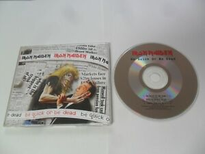 Iron Maiden - Be Quick Or Be Dead (CD Single 1992)
