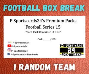 2021 P-SPORTSCARDS24'S PREMIUM NFL FOOTBALL CARDS LIVE PACK BOX BREAK #82