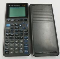 Texas Instruments TI-82 Scientific Graphing Calculator & slide cover Ships Free