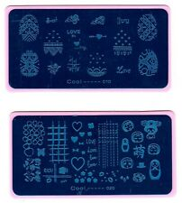 Valentine Love U Nail Art Stamping Printing Manicure DIY Template Image Plate