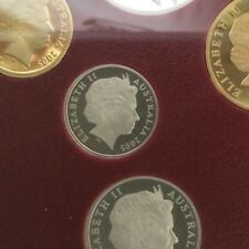 2005 5 cent coin UNC ex Proof set in 2 x 2