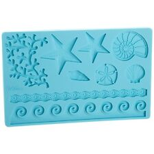 WILTON SEA LIFE FONDANT AND GUM PASTE MOLD stampo Sugarcraft Torta Decorazione