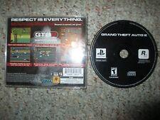 Grand Theft Auto 2 (Sony PlayStation 1, 1999) w/ Case Gta ps1