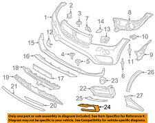 BMW OEM 15-16 X6 Front Bumper Grille Grill-Trim Molding Left 51117319789
