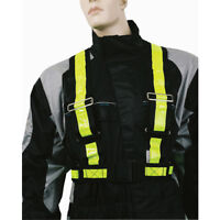 Oxford Reflective H-Belt Yellow