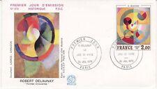 Enveloppe 1er jour FDC n°976 - 1976 : Tableau La joie de vivre de R. Delaunay