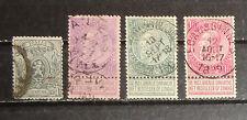 Belgium stamp lot used
