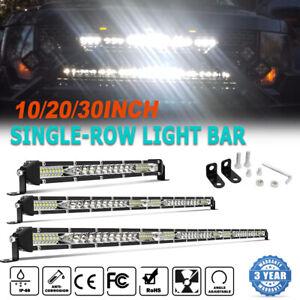 "10"" 20"" 30"" Slim Cree LED Light Bar Spot Flood Combo Work Offroad Truck ATV 4X4"