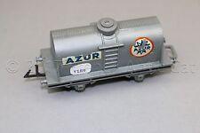Y189 Jouef train Ho 633 wagon citerne AZUR 98 mm gris