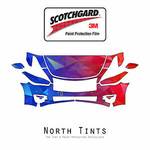 3M Scotchgard Paint Protection Clear Bra Kit for Infiniti Q70 & Q70L 2015-2018