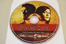 The DaVinci Code (DVD, 2006, 1-Disc, Special Edition, Full Frame )Disc Only