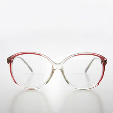 ed6cf81a0d Women s Bifocal Reading Glasses Clear with Red Accent 2.25 diopter - Mallory
