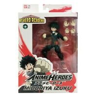 """My Hero Academia Anime Heroes 6.5"""" Izuku Midoriya"""