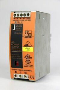 Ifm Electronic 1Ph Din Rail Power Supply as Interface 30,5V 2,8A