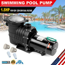 1.5Hp 110V Above-Ground Swimming Pool Pump Motor Strainer Generic For Hayward Us