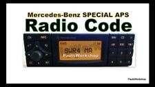 Radio Code - Mercedes-Benz Special APS BP4902 by Becker -  KEY CODE