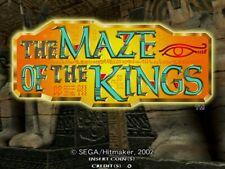 SEGA NAOMI  The Maze of the Kings light-gun ARCADE NO JAMMA CABINET NEO GEO GUN