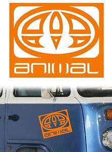 Animal Logo XL Vinyl Surf Car Van Sticker/Decal