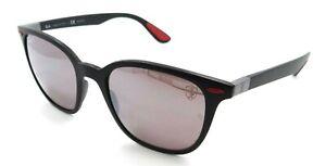 Ray-Ban Sunglasses RB 4297M F602/H2 51-19-150 Ferrari Black /Silver Mirror Polar