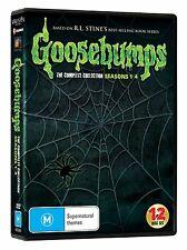 Goosebumps: Complete R.L. Stine Series Seasons 1 2 3 4 Box/DVD Set [Region Free]