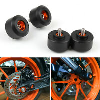 Front&Rear Fork Wheel Frame deslizadores Protector Para KTM 125 200 390 Duke ESP