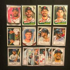 2019 TOPPS GALLERY BOSTON RED SOX MASTER TEAM SET 15 CARDS  SP & INSERTS +