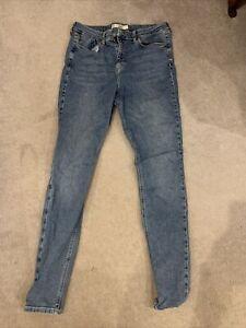 Topshop Jeans 14 W32 Tall