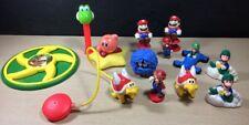 Large Lot Of Nintendo Mario Toys PEZ McDonald's Luigi Donkey Kong Yoshi Turtle