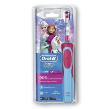 Oral-B Stages Power Kids elektrische Zahnbürste ,Netzteil, Die Eiskönigin Frozen