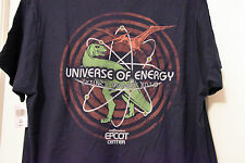 "Universe of Energy Annual Pass ""Extinct August 2017"" T-Shirt WDW Disney L"