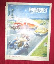 ENGLEBERT magazine N°53 mai-juin 1951 illustration de Géo ham /  les scooter