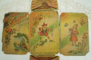 Antique Brabant's Sewing Kit, Eclipse Handy Package, 1895, Hat Pins, Sewing