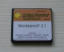 Amiga 600 cf hdd 4 go partition & formattée * FFS * avec 2.1 Installation pré licence