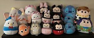 Squishmallow Disney You Pick Thumper Marie Minnie Mickey Stitch Dumbo Nemo Woody