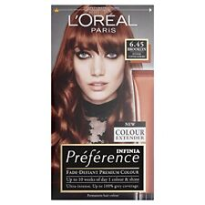 Preference Infinia Hair Dye, 6.45 Brooklyn Intense Copper Auburn