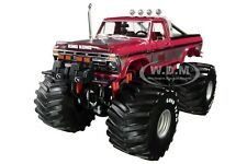 "1975 FORD F-250 MONSTER TRUCK W/ 66-INCH TIRES ""KING KONG"" 1/18 GREENLIGHT 13539"