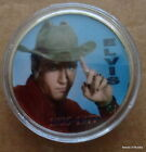 ELVIS PRESLEY THE KING OF ROCK N ROLL 24K GOLD PLATED MEMORABILIA COIN #33s