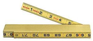 Klein Tools 910-6 Fiberglass Inside Reading Folding Rule