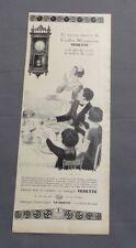 PUB PUBLICITE ANCIENNE ADVERT CLIPPING 191017 CARILLON WESTMINSTER VEDETTE REND