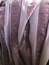 """pair of eyelet curtains Size Is 103"""" Width 72"""" Drop  Velvet Strip With Magnativ"""