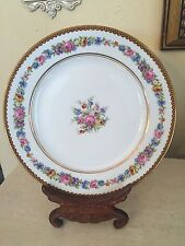 R & C RAYNAUD LIMOGES SALAD /DESSERT PLATE GOLD  FLORAL  More Available!