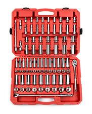 84-pc. 1/2 in. Drive Socket Set (3/8 - 1-5/16 in., 10-32 mm) 6 pt. TEKTON 13203