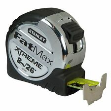 Stanley FatMax XTREME TAPE MEASURE 8m/26Ft Metric & Imperial - Heavy Duty