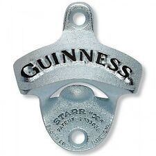 Guinness Cast Wall Mount Bar Bottle Guiness Opener ~ NEW IN RETAIL BOX
