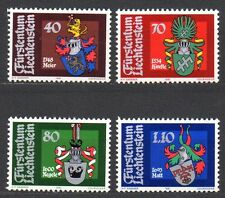 Liechtenstein - 1981 Coats of arms Mi. 766-69 MNH