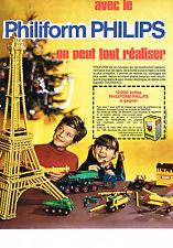 PUBLICITE ADVERTISING  1969   PHILIPS  PHILIFORM  concours BANANIA