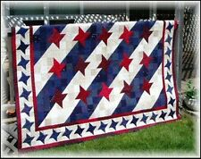 STREAKS OF LIGHT QUILT PATTERN EASY Scrappy~3 sizes~ Great Quilt of Valor #403
