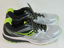 Saucony Ride 9 Running Shoes Men's Size 10 Excellent Plus Condition Silver