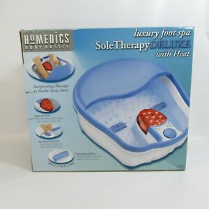 HoMedics Body Basics Sole Therapy Deluxe Luxury Foot Spa With Heat Model ST-4