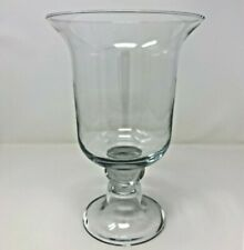 Southern Living At Home Hemingway Glass Footed Hurricane #40350 Vase Decor